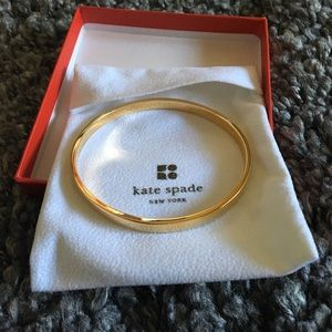 "Kate Spade ""Heart of Gold"" bangle"