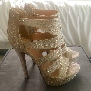 Cinderella Sparkle Heels! Size 7