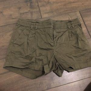Green H&M dressy shorts
