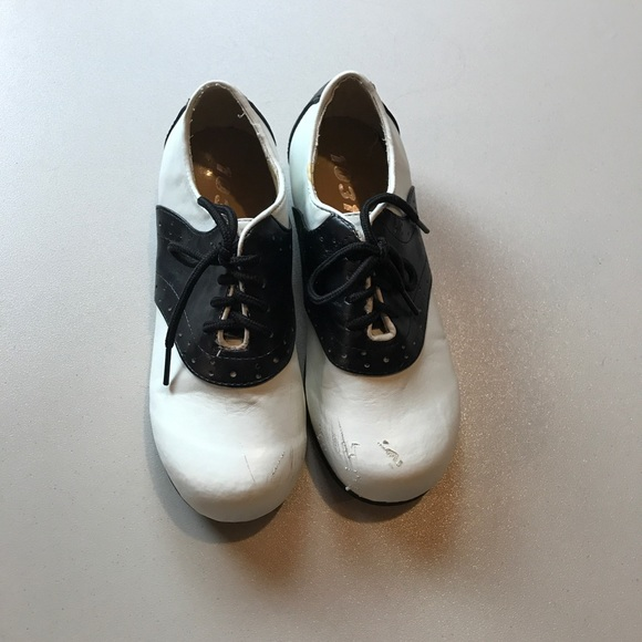 Shoes - Costume Saddle Shoes for Kids Black and White