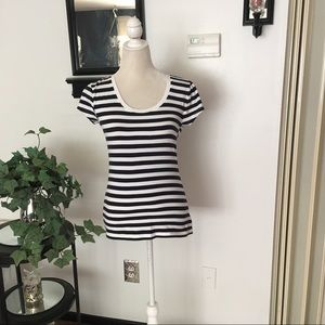 💕Sale💕Zenana Outfitters Short Sleeve Striped Top