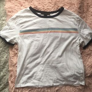 Rainbow ringer tee from forever 21