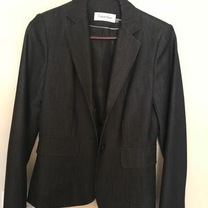 Calvin Klein suit Sz 2