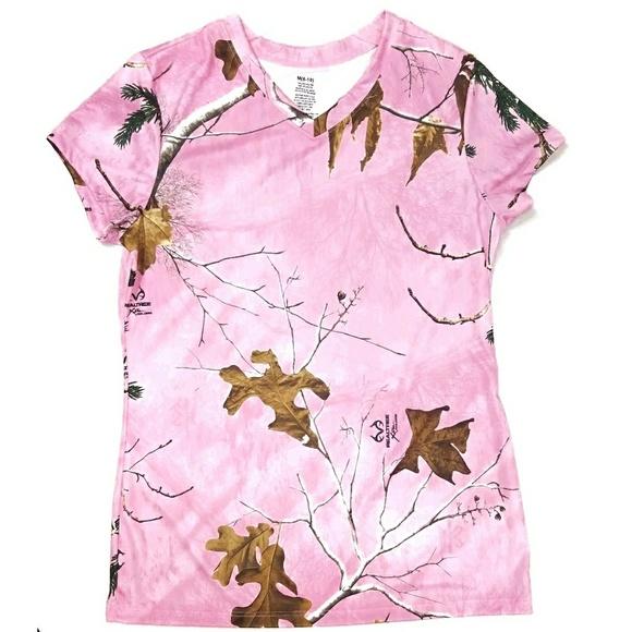 f6a0cd5e Realtree Tops | 315 Pink Camo Tshirt Xtra Colors | Poshmark
