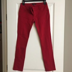 Forever21 red jeans