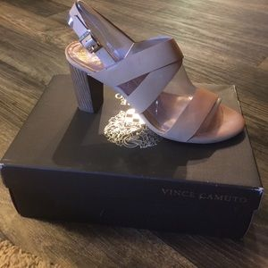 Vince Camuto sandals with heel.