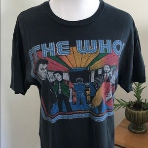 The Who Band Tee