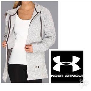 Under Armour full zip with hoodie fleece
