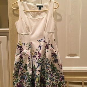 Ralph Lauren flare Floral dress