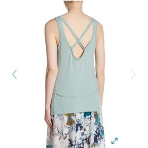NWT Melrose And market sz L Nordstrom's green tank