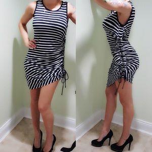 Michael Kors Side Corset Dress
