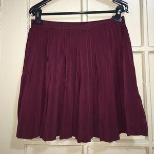 Short H&M Pleated Skirt