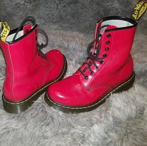 Patent Leather Doc Dr. Martens 1460  Boots
