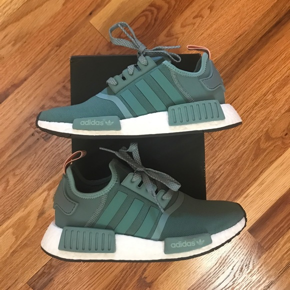 Adidas NMD R1 S76010 Vapour Steel Teal Pink 6.5