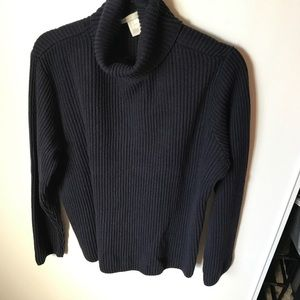 H&M Navy Turtleneck Sweater