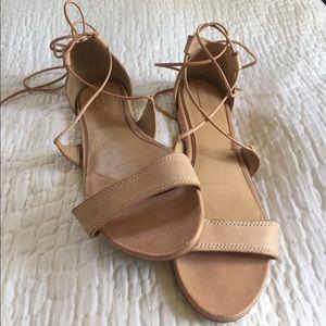 Aldo wrap sandals (size 8.5)