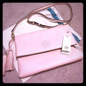 💯 Authentic Tory Burch Thea Fold-Over Messenger