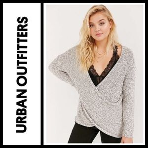 Urban Outfitters Kimchi Blue Surplice Sweater