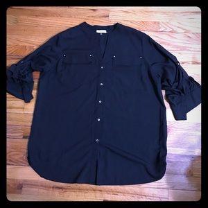 Calvin klein classic tunic shirt size 0x