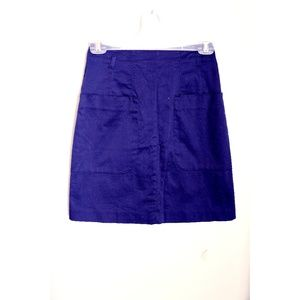 H&M Navy Pencil Skirt with Pockets
