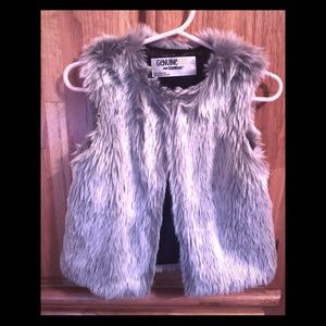 Other - Faux Fur Vest 2/3T