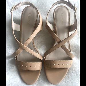 New - Calvin Klein - Pamilla Wedge Sandal