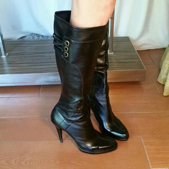 Nine West Shoes | Stiletto Boots Size 9