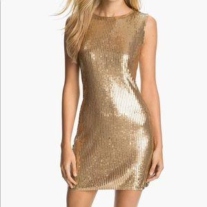 MK Gold Dress