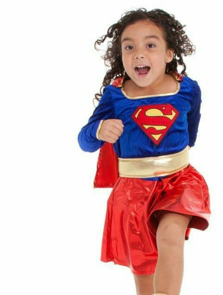 Rubies Costume Co Supergirl Child Costume Medium