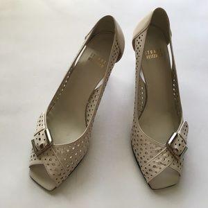 perforated peel toe heels