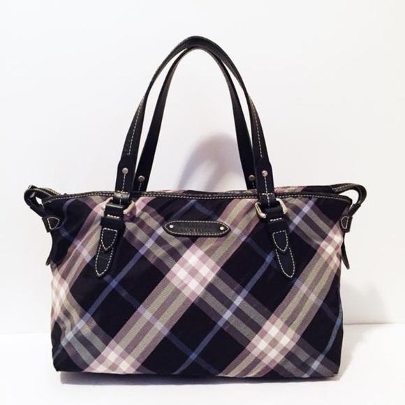 65af9ba5f1b0 Burberry Handbags - Burberry blue label nova check tote