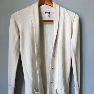 J.Crew Cotton Cashmere Cardigan