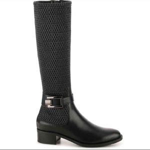 Aquatalia Odelia Stretch Leather Riding Boots NWT