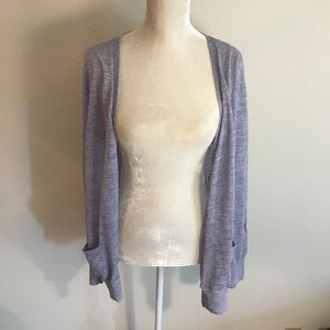 J.Crew Lilac Button Up Long Sleeve Cardigan