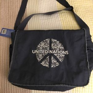 Other - NWT United Nations Peace Laptop/Messenger Bag