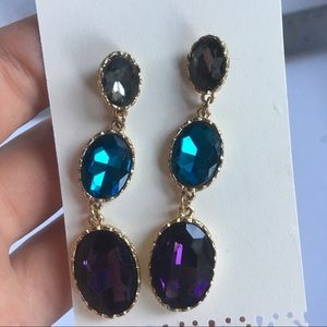 Jewelry - Glam gem earrings