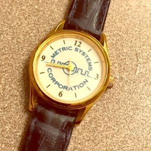 Metric Systems Corporation woman's wrist watch