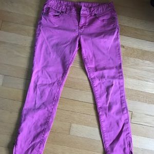 Urban Outfitters size 26 pink jean