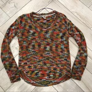 Roxy Colorful Knit Sweater