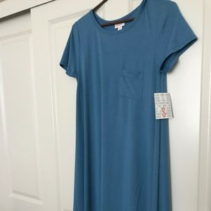 Lularoe small sky blue carly