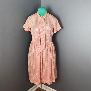 Vintage floral house dress