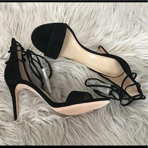 Heels - Ankle wrap w/tassels