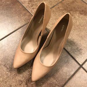 Express nude heels