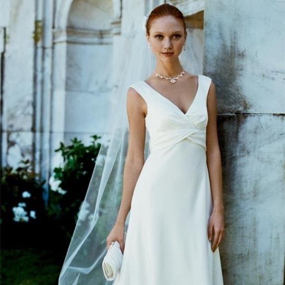 Davids Bridal Style Vw9879 Size 2 Wedding Dress | Poshmark