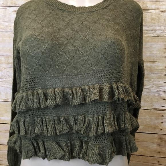 71% off Kensie Sweaters - Kensie Olive Long Sleeve Sweater from ...
