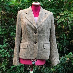 Ann Taylor Loft Tweed Blazer