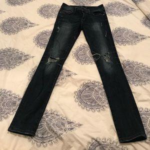 Zara Dark Stretchy Jeans