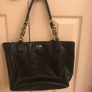 Black coach bag. Authentic
