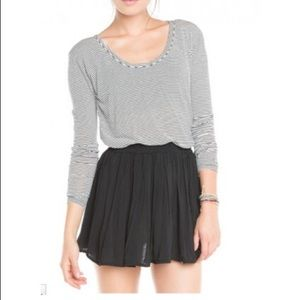 Brandy Melville Black Luma Skirt
