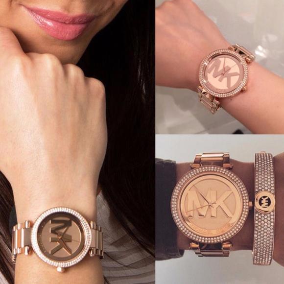 0d0dd50f0c4b2 Michael Kors Watch MK5865 Parker Rose Gold